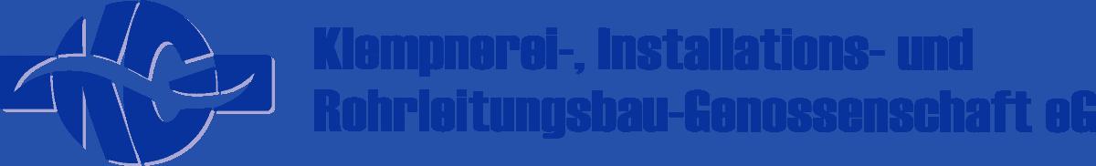 Logo mit Schriftzug - Klempnerei-Genossenschaft eG