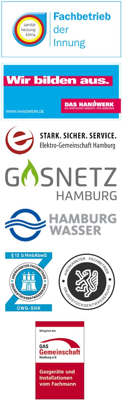 Logos auf Klempnerei-Genossenschaft eG